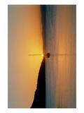 Sunset on the Bay Prints by Jason Pierce
