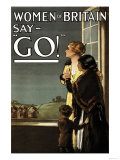 Women of Britain Say Go! Prints by Kealey