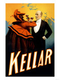 Kellar: A Toast of Respect for Magical Prowess Posters
