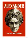 Alexander: The Man Who Knows - Reprodüksiyon