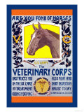 Join the Veterinary Corps Pôsters por Horst Schreck