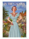 In The Garden, 50's Retro Dress I Prints