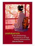 Inspiration: Madame Butterfly Affiches