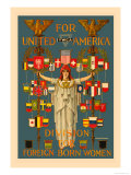 For United America Posters by C. Howard Walker