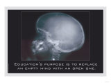Education for an Empty Mind Print