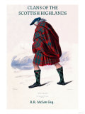 Clans of the Scottish Highlands Poster