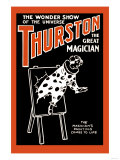 Painting to Life: Thurston the Great Magician the Wonder Show of the Universe Prints
