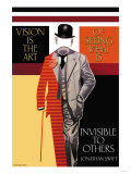 Vision is the Art Poster