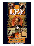 Lee in His Wonderful Hypnotic Performances Posters