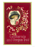 California and Oregon Trail Posters