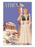 Athens 50's Fashion Tour II Posters