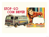 Stop-Go Coin Driver Poster