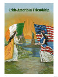 Irish American Friendship Art