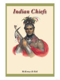 Indian Chiefs Premium Giclee Print