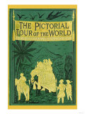 The Pictoral Tour of the World Premium Giclee Print