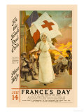 France's Day, Please Help Print by Amedee Forestier
