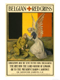Belgian Red Cross Posters by Charles A. Buchel