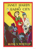 Janet Hardy in Radio City Prints