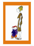 Jake and Mom Premium Giclee Print by Norma Kramer