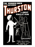 Lady Fair: Thurston the Great Magician the Wonder Show of the Universe Prints