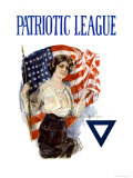 Howard Chandler Christy - Patriotic League Reprodukce
