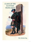 Clans of the Scottish Highlands Premium Giclee Print