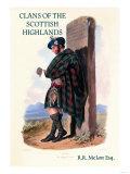 Clans of the Scottish Highlands Art