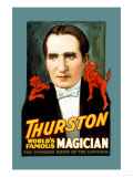 Thurston, World&#39;s Famous Magician the Wonder Show of the Universe Prints