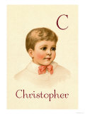 C for Christopher Posters by Ida Waugh
