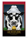 Attitude Print by Richard Kelly