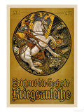 Zeichnet die Sechste Kriegsanleihe (Subscribe to the Sixth War Loan) Poster by Maximilian Lenz