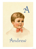 A for Andrew Posters by Ida Waugh