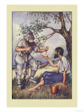 Robinson Crusoe: I Went to Him and Gave Him a Handful of Raisins Posters by Milo Winter