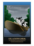 Teamwork Prints by Richard Kelly