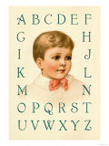 Big Boy's Alphabet Art by Ida Waugh