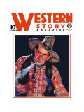 Western Story Magazine: The Shooter Posters
