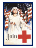Join, American Red Cross Posters by Walter W. Seaton