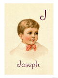 J for Joseph Posters by Ida Waugh