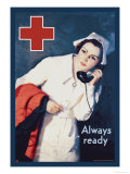 Always Ready Posters by Lawrence Wilbur