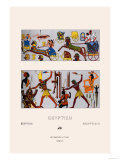 Egyptian Chariots and Weapons Prints by  Racinet