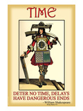 Time Print by Wilbur Pierce