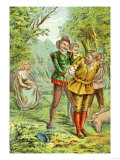 Robin Hood: Argument, Fight, Capture Prints