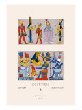 Egyptian Gods, Goddesses and Pharaohs Prints by Racinet