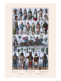 Britons and Gauls Prints by  Racinet