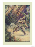 Robinson Crusoe: I Must Confess Print by Milo Winter