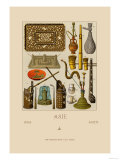 Asian Smoking Implements Posters by  Racinet