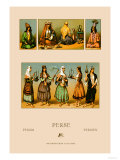Traditional Dress of Persia Posters by  Racinet