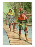 Robin Hood: Encounter with a Giant Print