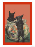 The Mischief-Makers Premium Giclee Print by Diana Thorne