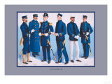 U.S. Navy: Uniforms, 1899 Posters by  Werner
